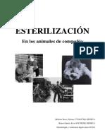 Esterilización en Los Animales de Compañía