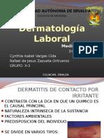 Dermatitis Ocupacionales