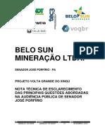 Belo Sun Nota Tecnica PVG(1)