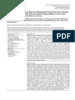 Jurnal Pengaruh Konsentrasi Susu Skim Dan Maltodekstrin (Sumantri 2016)