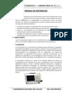 Pre Informe Manejo de Materiales