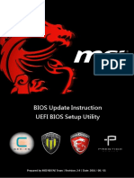 Flash BIOS by UEFI BIOS Setup Utility En