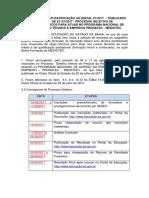 Edital n o 01 de Reti Ratificacao Medioteccronograma