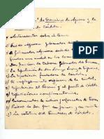 La Ideología de Francisco de Aguirre (Notas m.s.)