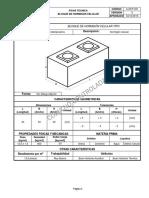f.t Bloque de Hormigon Celular Tipo Para Clientes