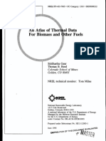 An Atlas of Thermal Data for Biomass and Other Fuels - NREL 1995