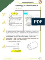 Analogias Entre Transferencia de Calor y Transferencia de Masa ING de ALIMENTOS 2