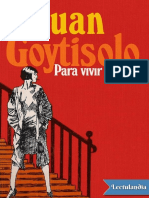 Para Vivir Aqui - Juan Goytisolo