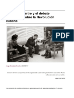 Jean-paul Sartre y El Debate Ideologico Sobre La Revolucion Cubana-2017!09!10