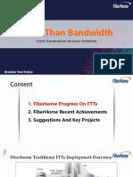 Fiberhome Access Solution FTTH