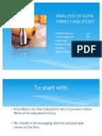 Finance Ppt- Kota Fiber Pvt Ltd