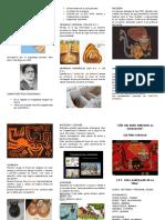 Cultura Paracas Triptico Sin Color