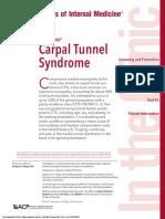 Annals of Internal Medicine Volume 163 Issue 5 2015 [Doi 10.7326%2FAITC201509010] Kleopa, Kleopas a. -- Carpal Tunnel Syndrome