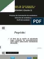 Semana 3 Proceso de Contratacion y Selección de Vendedores