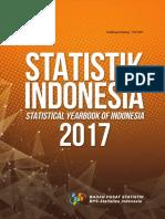 Statistik Indonesia 2017