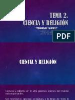 Tema 2 Ciencia y Religión Equipo 13