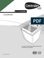 _manual de Lavadora Centrales