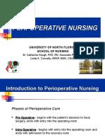 Perioperative Lecture