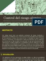 Control del riesgo sísmico.pptx