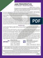 Prospectus Avrist Balanced - Cross Sectoral
