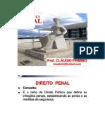 Direito Penal - AULA 01 - APLIC LEI PENAL 2017 - Cláudio Firmino