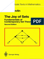 [Keith Devlin] the Joy of Sets Fundamentals of Contemporary Set Theory