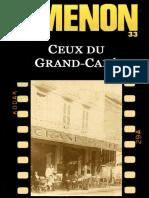 Ceux Du Grand-Cafe - Georges Simenon