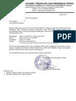Surat Pengumuman Peserta Bimtek PAUD Batch-2