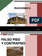 FALSO PISO Y CONTRAPISO