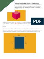 Matemática Perimetro y Areas - 2