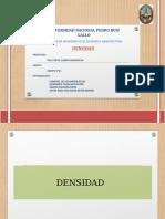 Diapositivas Densidad 2017 II