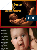 4 a Tribute to Mothers