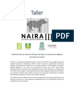 Taller Naira III - Ago 31