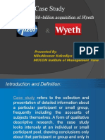 pfizer wyeth merger case study