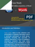 Pfizer Wyeth Case Study