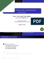 Sesión 01 Microeconomía I Jovani UNCP-2014-II LATEX