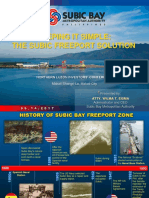 Subic Bay Metropolitan Authority Presentation at the Northern Luzon Investors' Conference