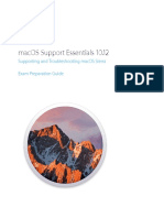 MacOS Support Essentials 10.12 Exam Preparation Guide