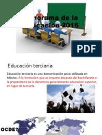 Panorama de La Educación 2015-2