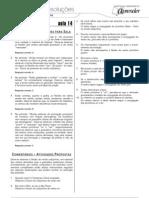 Português - Caderno de Resoluções - Apostila Volume 3 - Pré-Universitário - port1 aula14