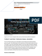 Threat Hunting Through Email Headers - Sqrrl