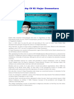 Biography of Ki Hajar Dewantara