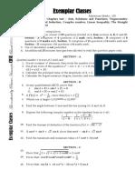 Class 11 Test 1 Maths