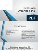 Desarrollo Organizacional Cap 7