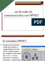 Simulación de Redes de Comunicaciones Con OPNET