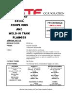 Tank Flanges