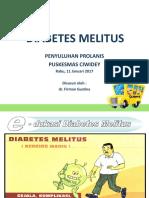 Penyuluhan Prolanis Diabetes Melitus Dr Firman