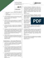 Português - Caderno de Resoluções - Apostila Volume 3 - Pré-Universitário - port2 aula15
