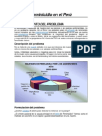 Feminicidio en Peru