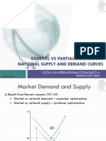 Lesson 03a General vs Partial Equilibrium - National Supply and Demand Curves